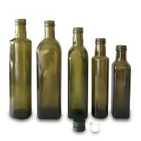 750ml/500m/250ml antique green oil bottle