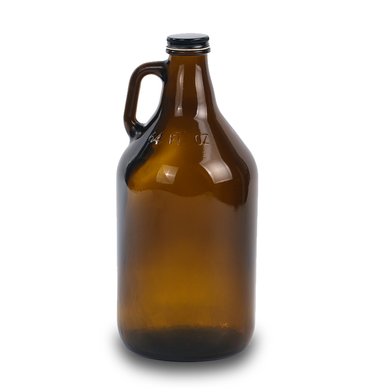 64OZ Amber Beer Growlers