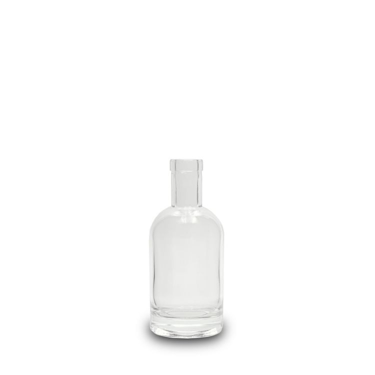 200 ml Clear Glass Polo Bottle With Bar Top