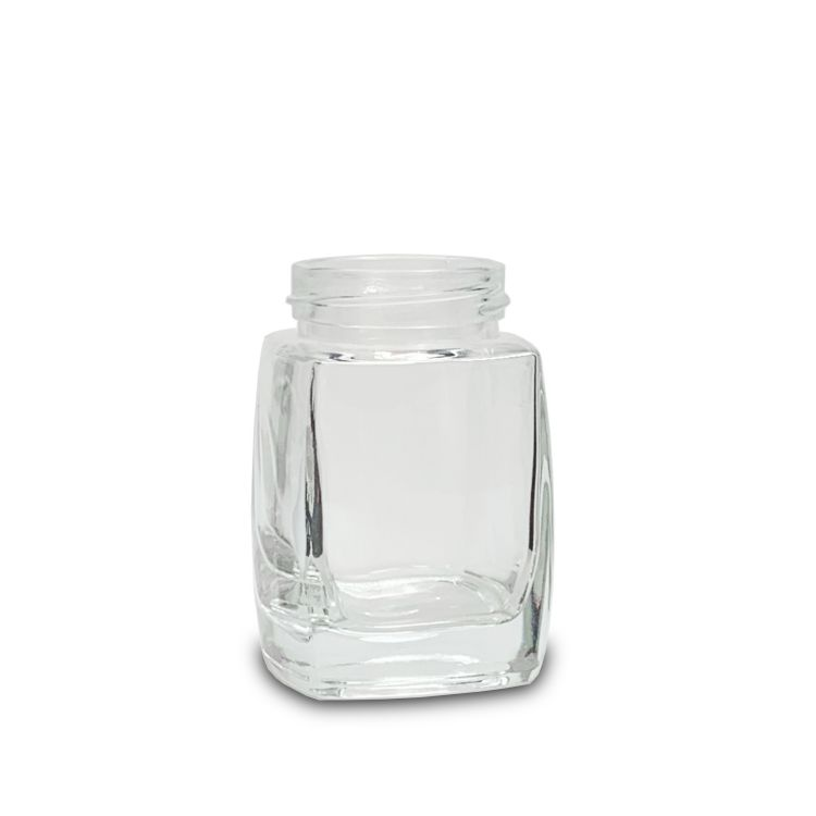 150ml Square Glass Storage Jar