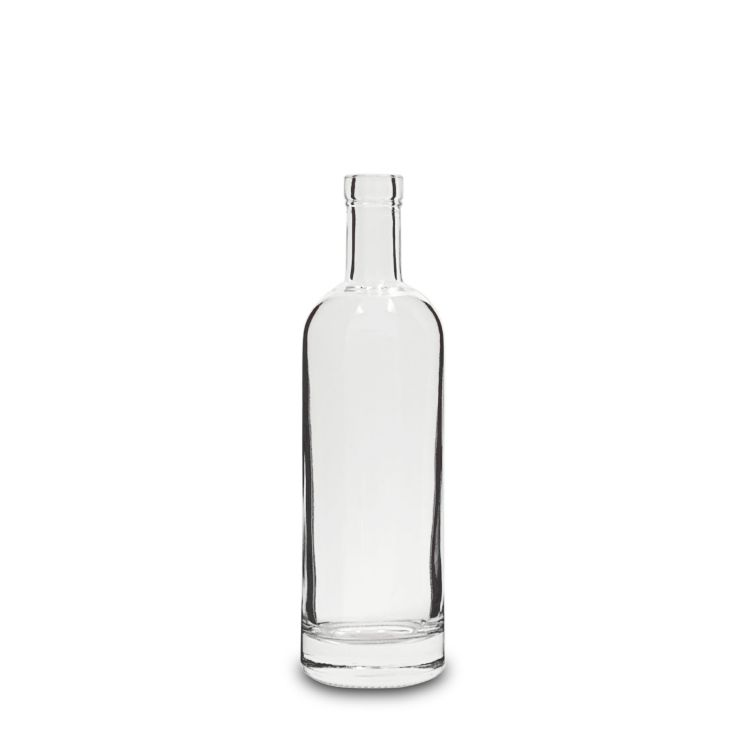 500 ml Clear Glass Aspect Liquor Bottles Bar Top