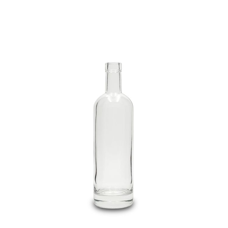 500 ml Clear Glass Stretch Nordic Liquor Bottles Bar Top