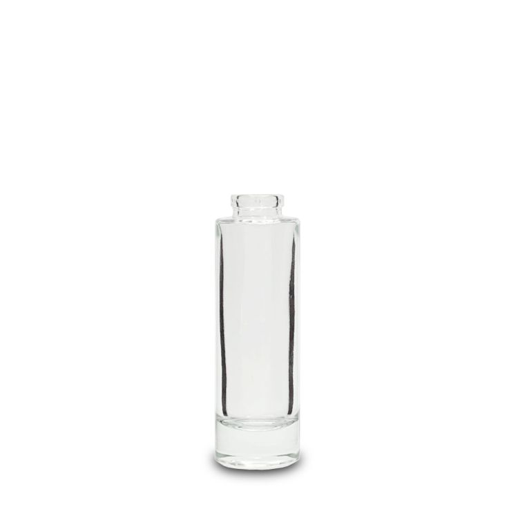 100 ml Cristal Clear Glass Cylindrical Bottle
